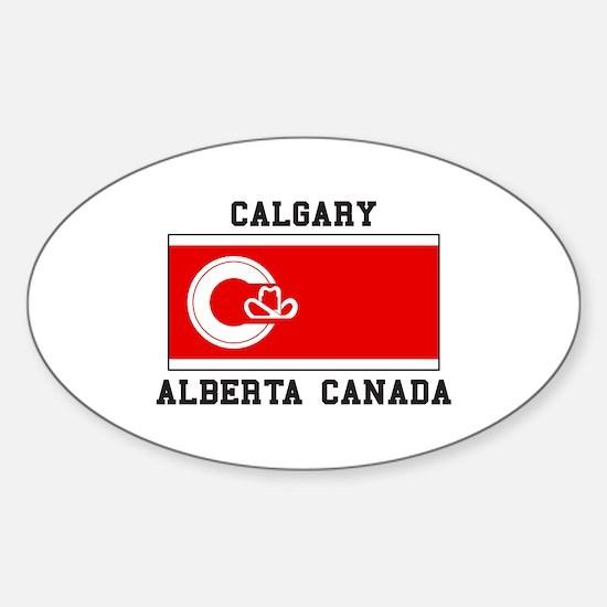 Calgary Alberta Canada Decal