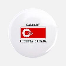 Calgary Alberta Canada Button