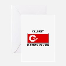Calgary Alberta Canada Greeting Cards