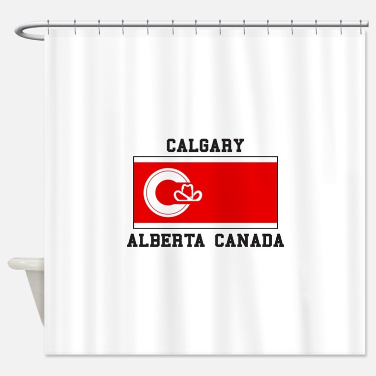 Calgary Canada Shower Curtains