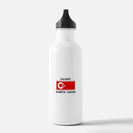 Calgary Alberta Canada Water Bottle