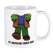 Monster Head Mug
