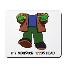 Monster Head Mousepad