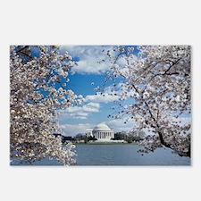 Thomas Jefferson Memorial Postcards (Package of 8)