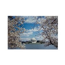 Thomas Jefferson Memorial with Ch Rectangle Magnet
