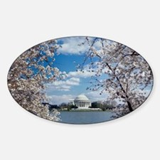 Thomas Jefferson Memorial with Cher Decal