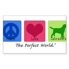 Peace Love Labs Decal
