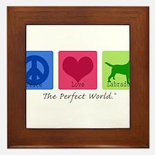 Peace Love Labs Framed Tile