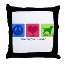 Peace Love Labs Throw Pillow