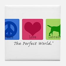 Peace Love Labs Tile Coaster