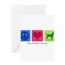 Peace Love Labs Greeting Card