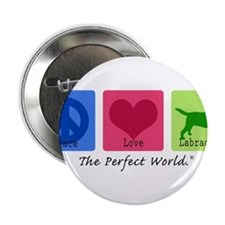 """Peace Love Labs 2.25"""" Button"""