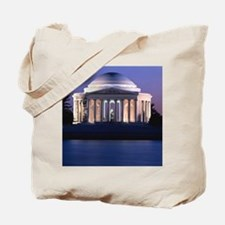 Thomas Jefferson Memorial at Dusk Tote Bag