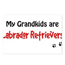 Grandkid Labradors Postcards (Package of 8)
