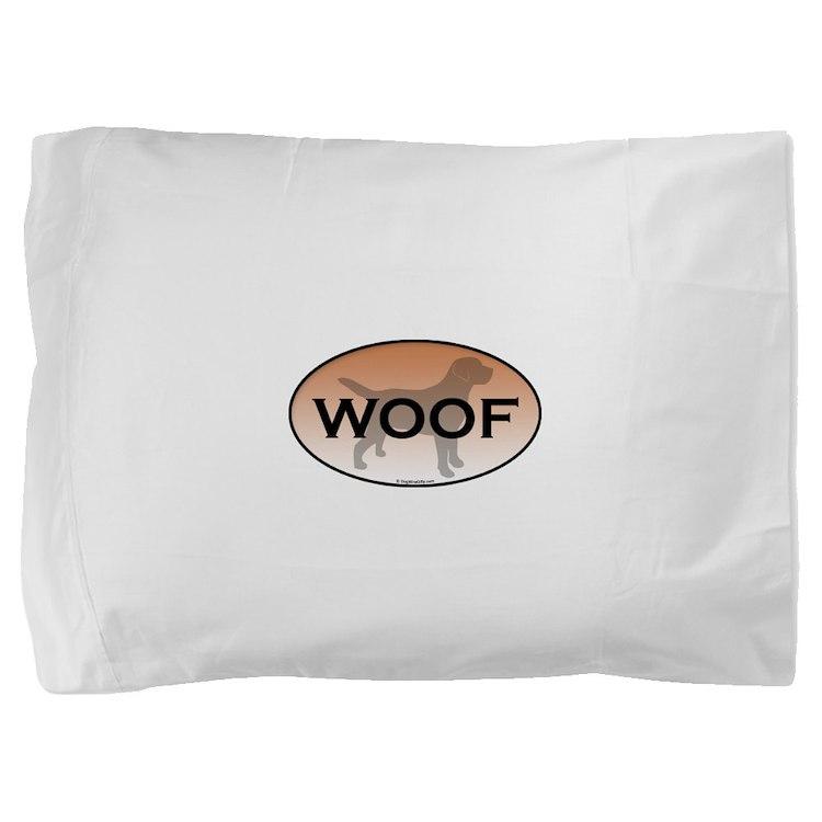 Woof.png Pillow Sham