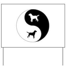 Yin Yang Lab Yard Sign