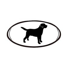 Labrador Oval Text Patch