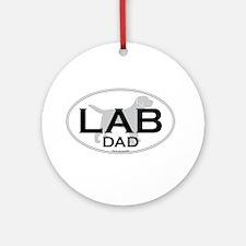 LABRADOR DAD II Ornament (Round)