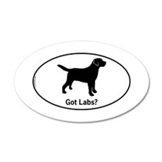 Got Labs? Silhouette Wall Decal