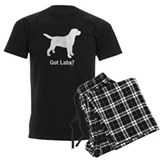 Labrador retriever Men's Dark Pajamas