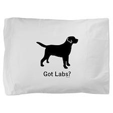 Got Labs? Silhouette Pillow Sham