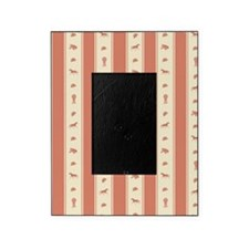 Whimsical Show Pony Horse Pattern Picture Frame