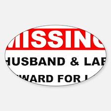 Missing Husband Lab Decal