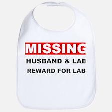 Missing Husband Lab Bib