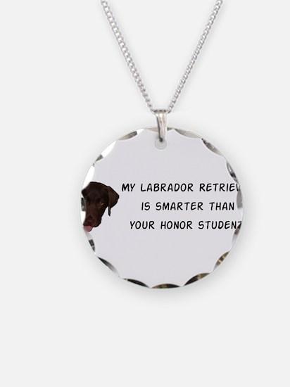 Smart Labrador Retriever Necklace