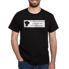 Smart Labrador Retriever T-Shirt