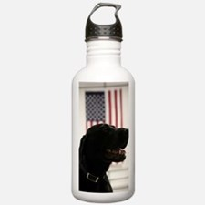 All-American Black Lab Water Bottle