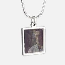 The Mentalist Silver Square Necklace
