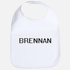 Brennan digital retro design Bib