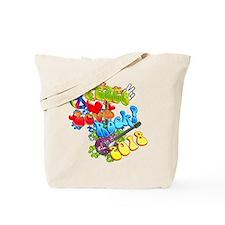 Peace Love Rock 2018 Tote Bag