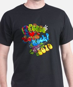 Peace Love Rock 2019 T-Shirt