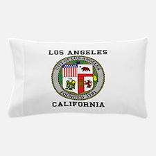 Los Angeles California Pillow Case