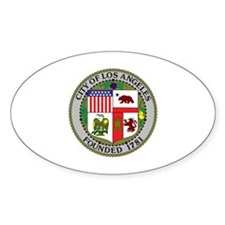 Los Angeles Seal Decal