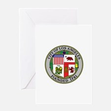 Los Angeles Seal Greeting Cards