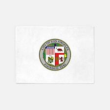 Los Angeles Seal 5'x7'Area Rug