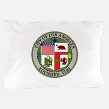 Los Angeles Seal Pillow Case
