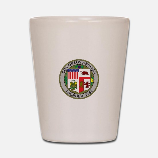Los Angeles Seal Shot Glass