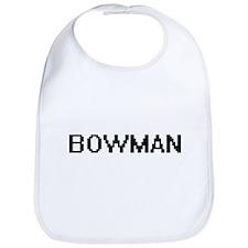 Bowman digital retro design Bib