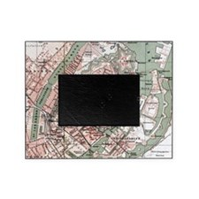 Vintage Map of Copenhagen Denmark (1 Picture Frame
