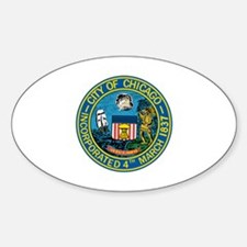 City of Chicago Seal Decal