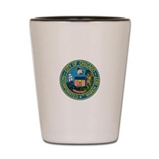 City of Chicago Seal Shot Glass