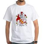 Wortley Family Crest White T-Shirt