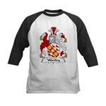 Wortley Family Crest  Kids Baseball Jersey