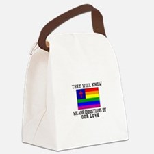 They Will Know Canvas Lunch Bag