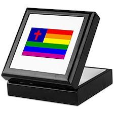 Christian Gay Flag Keepsake Box