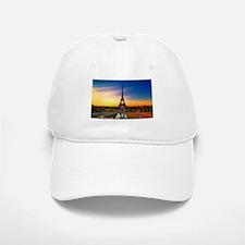Eiffel Tower Baseball Baseball Baseball Cap